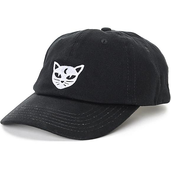 07271e9963d NWT Empyre Solstice Mystical Cat Baseball Dad Hat